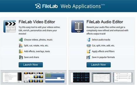 FileLab, un editor de audio y otro de vídeo gratis y online | Uso de Scoop it en la Educación | Scoop.it