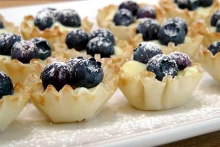 Blueberry Lemon Tartlets   desserts   Scoop.it