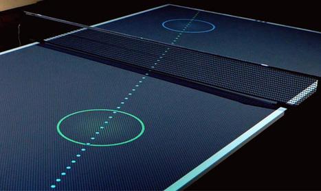 Une table de ping-pong interactive qui vous rendra meilleur | ping pong 44 | Scoop.it