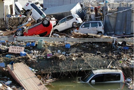 Map of the Damage From the Japanese Earthquake | Japan Tsunami | Scoop.it