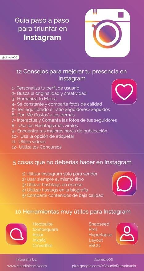 Instagram: La Guía más Completa para alcanzar el éxito | Social Media | Scoop.it