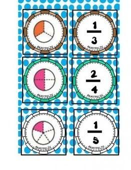 Súper memorama de Fracciones - Imagenes Educativas | Matemáticas para alumnado con dificultades de aprendizaje | Scoop.it