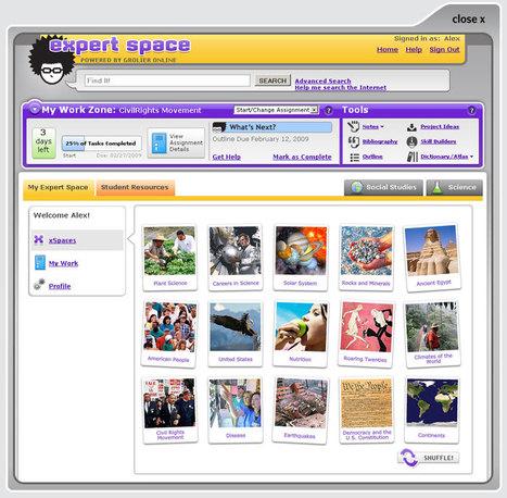 Content-Area Support | Expert Space Digital Curriculum in Science & Social Studies | UDL & ICT in education | Scoop.it