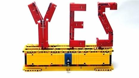Découvre ces créations en LEGO qui défient l'imagination (vidéo) - Geek Junior - | Ressources pour la Technologie au College | Scoop.it