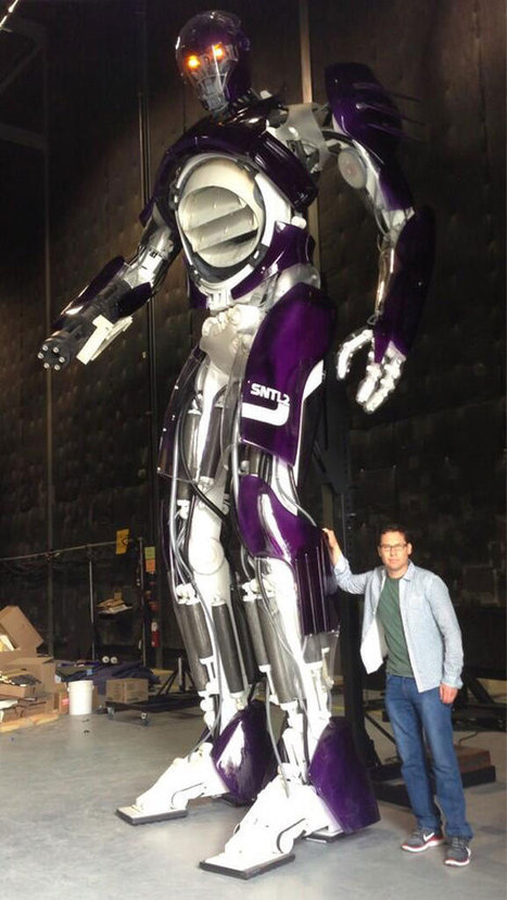 X-MEN: DAYS OF FUTURE PAST (2014): Life Size Sentinel Set Image, Video | Movie News | Scoop.it