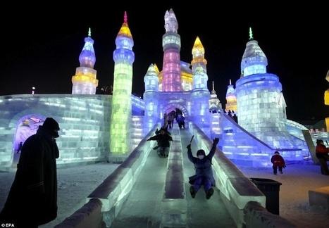 #Ice #Slides #Cina #Harbin #Ice #e #Snow #Festival   Le It e Amo ✪   Scoop.it