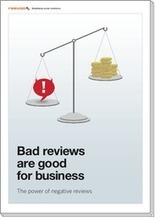 Negative reviews are effective conversion tools - Ecommerce - BizReport | Digital Strategies for Social Humans | Scoop.it
