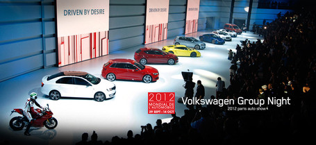 Volkswagen Group Night Paris Auto Show 2012 | VWVortex | Desmopro News | Scoop.it