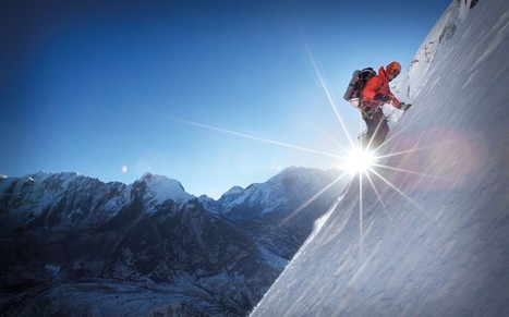 Ueli Steck: the man who runs up mountains - Telegraph.co.uk | Mountain Research | Scoop.it