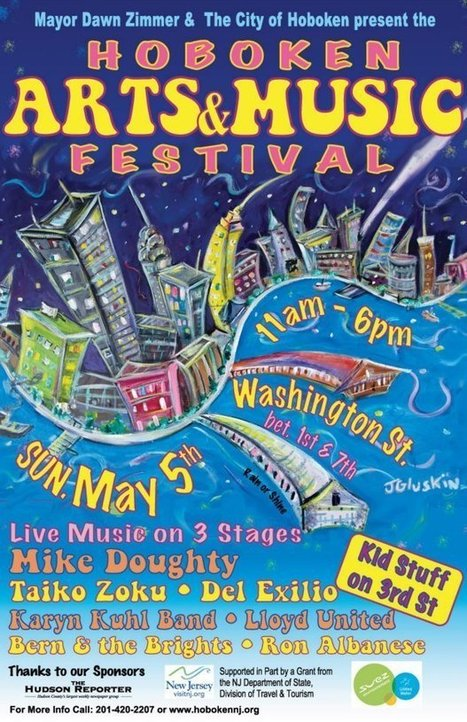 Hoboken NJ Arts & Music Festival 2013 On Its Way... | ...Music Festival News | Scoop.it