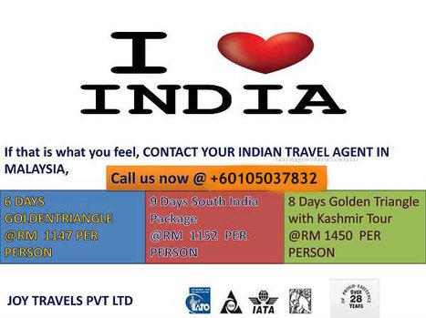 Malaysia Travel Agent I Love India | International holiday Destinations | Scoop.it