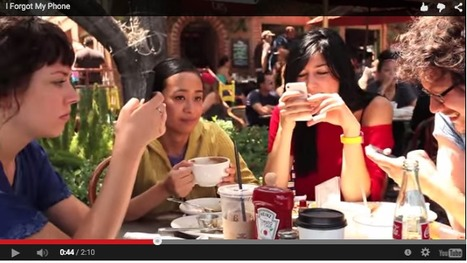 Our Cultural Addiction To Phones, In One Disconcerting Video | Fitness, Health, and Wellness | Scoop.it