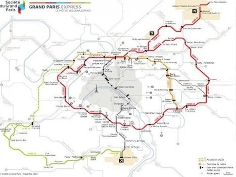 Grand Paris Express: Setec TPI désigné pour la maîtrise d'œuvre de la ligne 15 ouest | Le Grand Paris sous toutes les coutures | Scoop.it