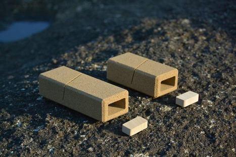 Ils créent un éco-emballage fait de sable qui se réduit en poussières après utilisation - CitizenPost | Jaclen's technologies | Scoop.it