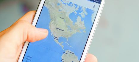 Comment envoyer un itinéraire depuis Google Maps vers votre smartphone Android   Informatique TPE   Scoop.it