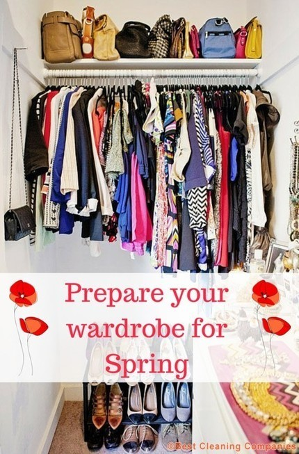 Spring is around the corner – organise your wardrobe now! | Home improvement | Scoop.it