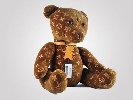 Louis Vuitton Teddy Bear: l'Orsacchiotto Di Peluche Da 9.000 $ - | Idee Virali Creative | Scoop.it
