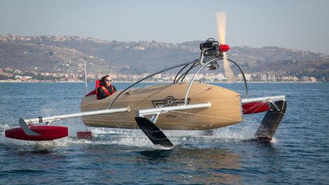 Le bateau volant - Canoë | French DB home | Scoop.it