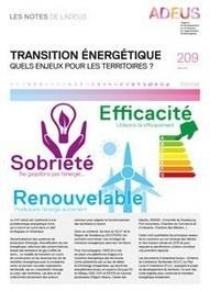 Les Notes de l'ADEUS n°209 : énergie — Agence de développement et d'urbanisme de l'Agglomération Strasbourgeoise (ADEUS) | Développeur économique | Scoop.it