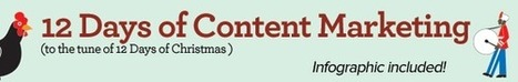 Content Marketing Guide: 12 Days of Content Marketing Strategy [Infographic] - Curata Blog | Brandedcontent | Scoop.it
