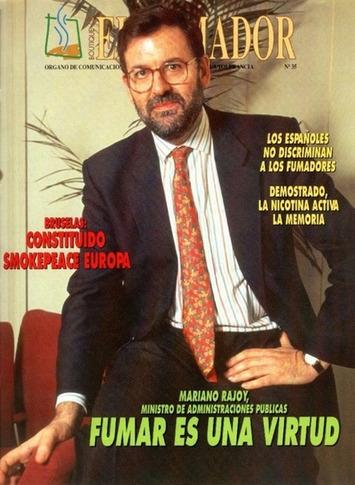 así posaba mariano rajoy en 1996 - La columna de Abel Arana | Partido Popular, una visión crítica | Scoop.it