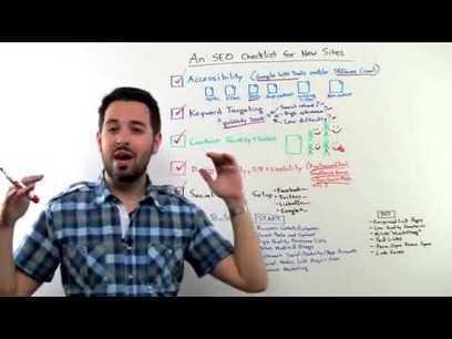 Checkliste SEO pour les nouveaux sites web - YouTube | Inbound Marketing & Personal Branding are good 4 You | Scoop.it