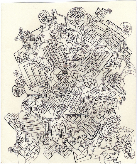 Celebrating the Art of the Doodle: 20 Awesome | Escape Into Life | Drawing | Scoop.it