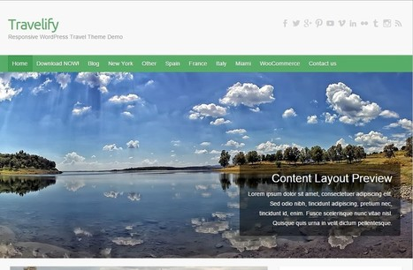 7 Exclusive WordPress Themes to Create A Responsive Site | latesttutorial.com | Scoop.it