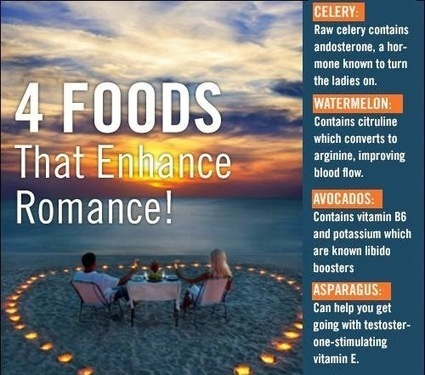 4 Foods That Enhance Romance | Useful Fitness Articles | Scoop.it