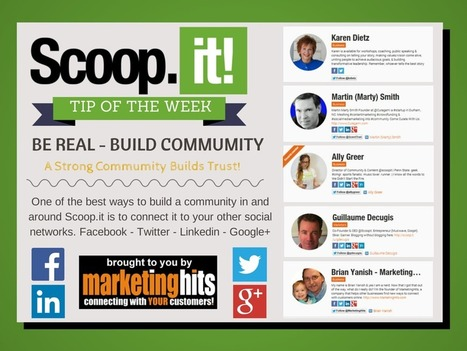 Using Scoop.it to build a community @scoopit | MarketingHits | Scoop.it