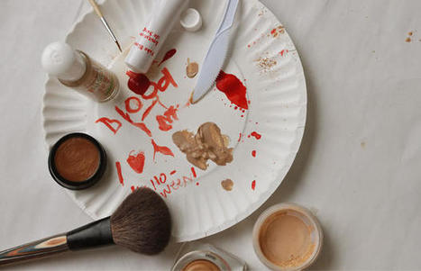 Easy Halloween Makeup Tutorial: How to Make Fake Scars and Cuts | Beauty Buff | Scoop.it