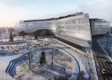 Zaha Hadid Architects designs office for Russia's Silicon Valley | The Architecture of the City | Scoop.it