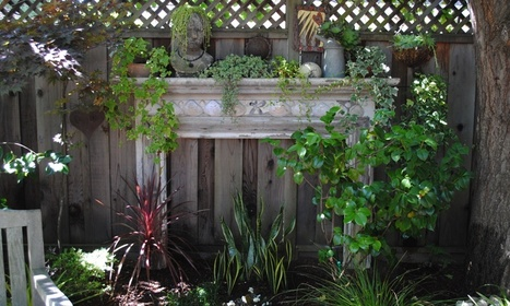 A mantel in the garden | Up Cycled Garden | Scoop.it