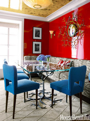 A Small Colorful Apartment | Apartment Decorating | Scoop.it