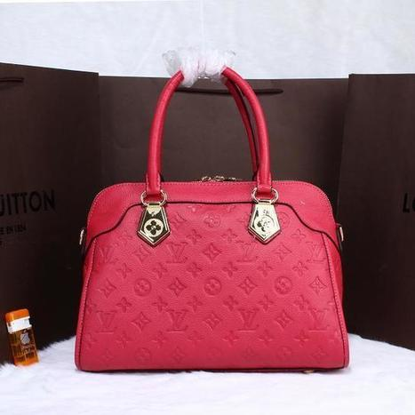 Louis Vuitton 48109 Pink Bag - £138.80 | I found the Bags Home | Scoop.it