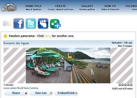 Créez vos photos panoramiques en ligne avec dermandar.com | Retouches et effets photos en ligne | Scoop.it