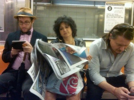 The Maddow Blog - Political metaphor waits to happen (NYC subway edition)   Community Media   Scoop.it