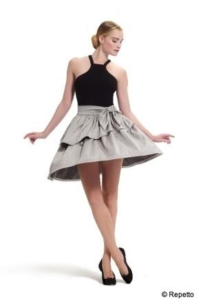 Repetto se lance dans la mode : première collection de prêt-à-porter, printemps-été 2013 - Danses avec la plume - L'actualité de la danse | Alicia LM | Scoop.it