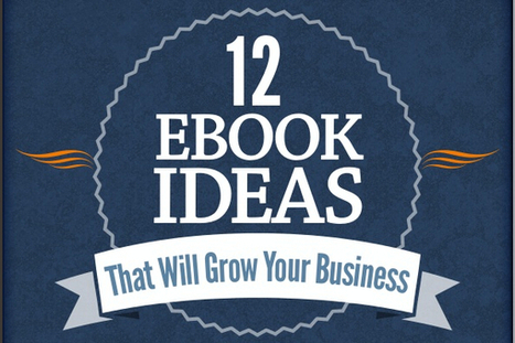 12 Types of eBooks to Use for Growing Your Business - BrandonGaille.com | Digital-News on Scoop.it today | Scoop.it