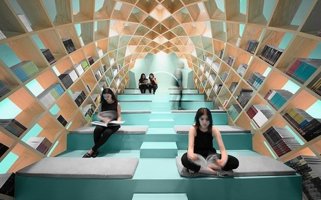 Mexico's Conarte Library Has a Dome Shaped Bookshelf You Can Sit In | Daring Ed Tech | Scoop.it