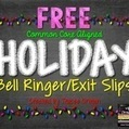 FREE Common Core Holiday Bell Ringer/Exit Slips | Resources for Teachers | Scoop.it