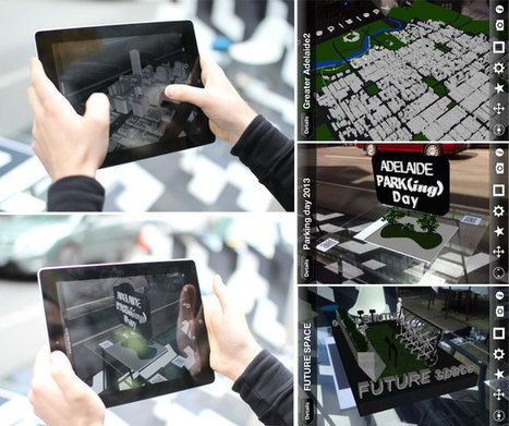Augmented Reality at Adelaide PARK(ing) Day 2013 - Woods Bagot | Woods Bagot | Scoop.it
