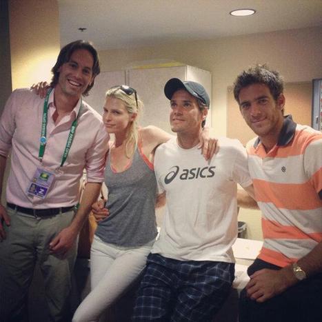 Insolites > Haas et Del Potro partagent le vestiaire | Tennis , actualites et buzz avec fasto-sport.com | Scoop.it