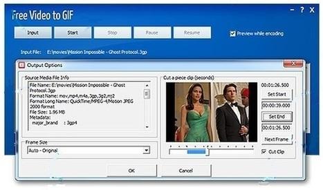 Free Video to GIF: software para convertir vídeos, o una fracción de ellos, a gif animados | Herramientas digitales | Scoop.it
