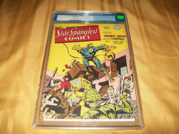"Star Spangled Comics # 30 CGC Graded 4.5 VG+ 1944 Jack Kirby Golden Age Art DC | Jack ""King"" Kirby 