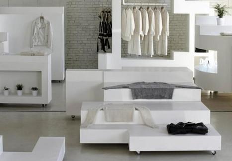 Un magasin de vêtements façon Tetris | Le point de vente de demain | Scoop.it
