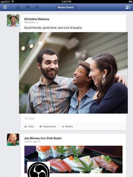 Facebook Explains Mobile-Focused Design #facebookmobile | MobileWeb | Scoop.it