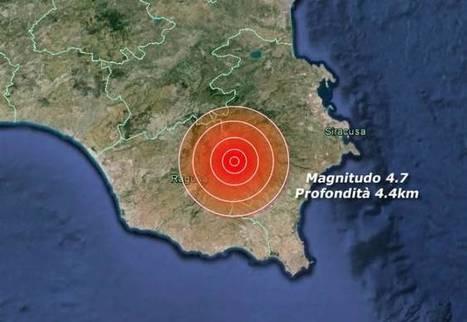 TERREMOTO SICILIA forte scossa tra Ragusa e Siracusa avvertita anche a Catania | La Gazzetta Di Lella - News From Italy - Italiaans Nieuws | Scoop.it