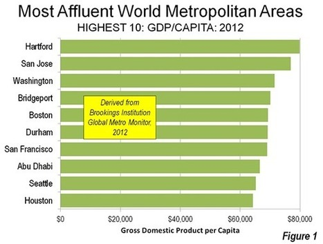 World's Most Affluent Metropolitan Areas: 2012 | Newgeography.com | Southmoore AP Human Geography | Scoop.it