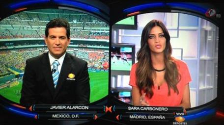 Sara Carbonero ficha por el gigante mexicano Televisa | Mexicanos en Castilla y Leon | Scoop.it